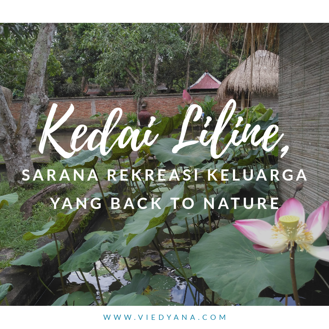 Kedai Liline, Sarana Rekreasi Keluarga yang Back to Nature