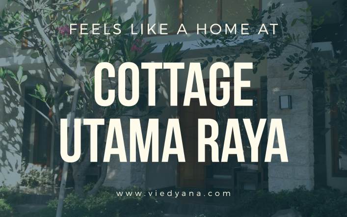 Feels Like a Home at Cottage Utama Raya